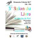 5e SALON DU LIVRE - SAINT-NICOLAS-DE-PORT, dimanche 05 février 2017