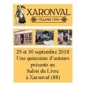 Salon du livre de Xaronval (88), dimanche 30 septembre 2018