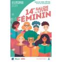 14e SALON DU LIVRE FEMININ, HAGONDANGE (57), SAMEDI 02 ET DIMANCHE 3 FEVRIER 2019