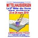 10e FETE DU LIVRE DE MITTELHAUSBERGEN, 23 et 24 mars 2019