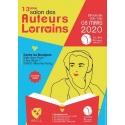 13e SALON DES AUTEURS LORRAINS, dimanche 08 mars, VILLERS LES NANCY